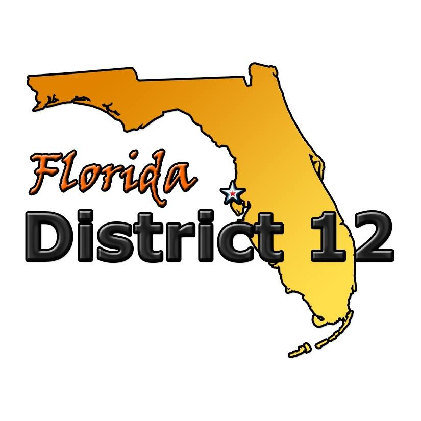 Florida District 12 Little League logo