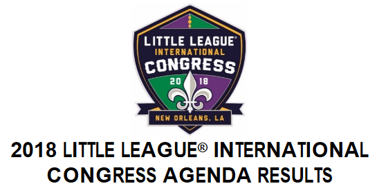 2018 Congress Agenda Header